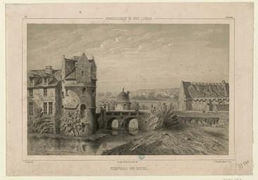 Arrondissement de Pont-l'Évêque, château de Reux | Thorigny, Félix (1823-1870)