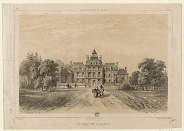 Arrondissement de Bayeux, château de Balleroy | Thorigny, Félix (1823-1870)