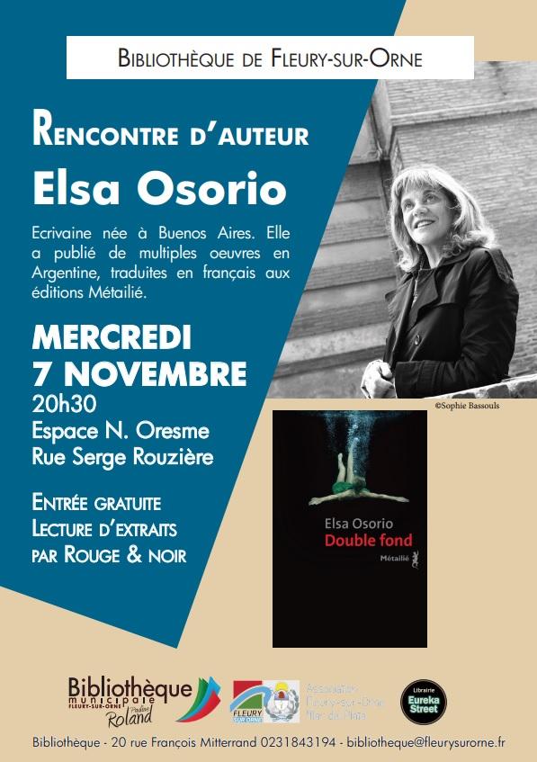 Rencontre avec Elsa Osorio |