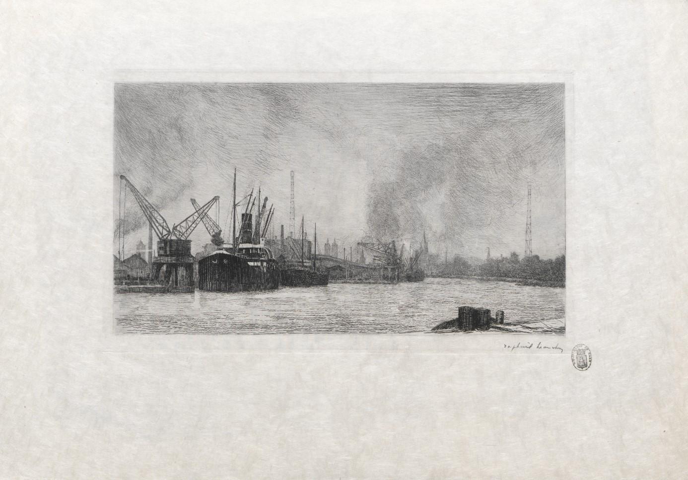 Dix eaux-fortes de Caen par Raphaël Manchon |