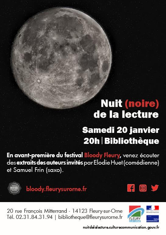 Nuit (noire) de la Lecture |