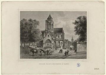 Eglise Saint-Etienne à Caen | Terwen, Jan Aerts dit Jeannin de Teruenne (1511-1589)