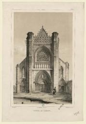 Ardaine, portail de l'abbaye | Thorigny, Félix (1823-1870)