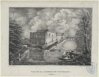 Vue de la caserne de Vaucelles (Caen) |