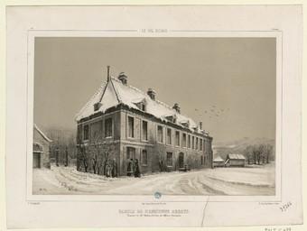 Le Val Richer, partie de l'ancienne abbaye : propriété de M. Guizot, ministre des Affaires étrangères | Thorigny, Félix (1823-1870)