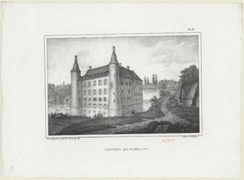 Chateau de Flers (Orne) | Dulomboy (18..-18.. ; lithographe)
