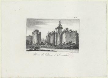 Ruines du Château d'Avranches |