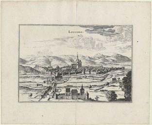 Louviere [Louviers] | Merian, Kaspar (1627-1686)