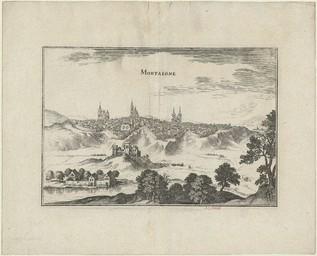 Mortaigne [Mortagne] | Merian, Kaspar (1627-1686)