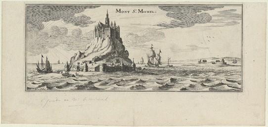 Mont St Michel | Merian, Kaspar (1627-1686)