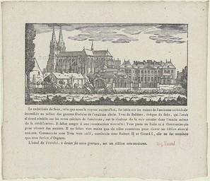 [Eglise Cathédrale de Seès [sic]] | Godard, Pierre-François (1768-1838)