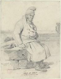 Loup de mer de la côte de Normandie | Monanteuil, Jean-Jacques-François (1785-1860)