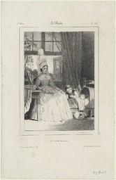 [Famille de Saint en Caux] | Lessore, Emile Aubert (1805-1876)