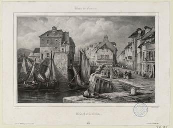 Honfleur | Lemercier, Charles-Nicolas (1797-1854)