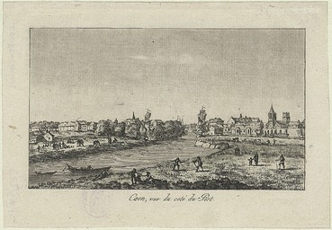 Caen. Vue du côté du Port |