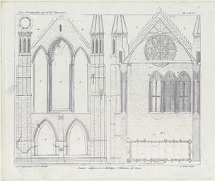 Ancien édifice à l'Abbaye St Etienne de Caen Pl. LXXXII | Loisel, A. (18..-18..)