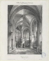 Chapelle de la Vierge, église St Pierre à Caen | Mansson, Théodore-Henri (1811-1850)
