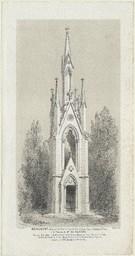 Monument élevé par les habitants de la ville de Caen, dans le cimetière St Jean, à la mémoire de Mr du Feugray,..., né le 8 juin 1786, décédé le 18 mars 1855. Lamotte Arch. | Bouet, Georges Adelmard (1817-1890)