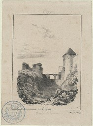 Caen. Le Château. Porte de Secours |