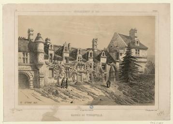 Arrondissement de Caen, manoir de Tierceville | Thorigny, Félix (1823-1870)