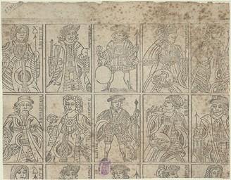 [Figures de jeu de cartes révolutionnaire] |