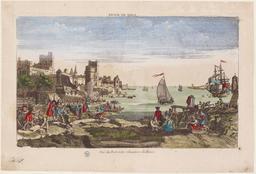 Vue du port et des chantiers du Havre |