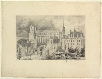 Cathédrale d'Avranches | Godey, L. (18..?-18..?)