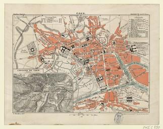 Caen : Guides Joanne   Thuillier, L. (18.. - 19..)