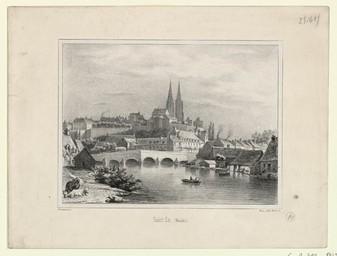 Saint Lo, (Manche) | Levavasseur, Pierre Désiré (1810-1872)