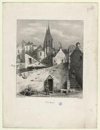 St. Lô, (Manche) | Levavasseur, Pierre Désiré (1810-1872)