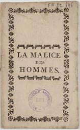 """Résultat de recherche d'images pour """"la malice des hommes"""""""