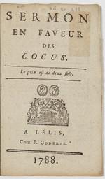 Sermon en faveur des cocus. |
