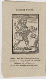 Les Fables et la vie d'Esope, composée par Planudes le grand, traduites du grec en français, selon la version grecque, avec le sens moral   Esope (0620?-0560? av. J.-C.). Auteur