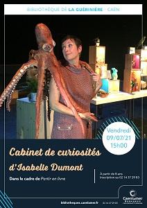 Cabinet de curiosités d'Isabelle Dumont  