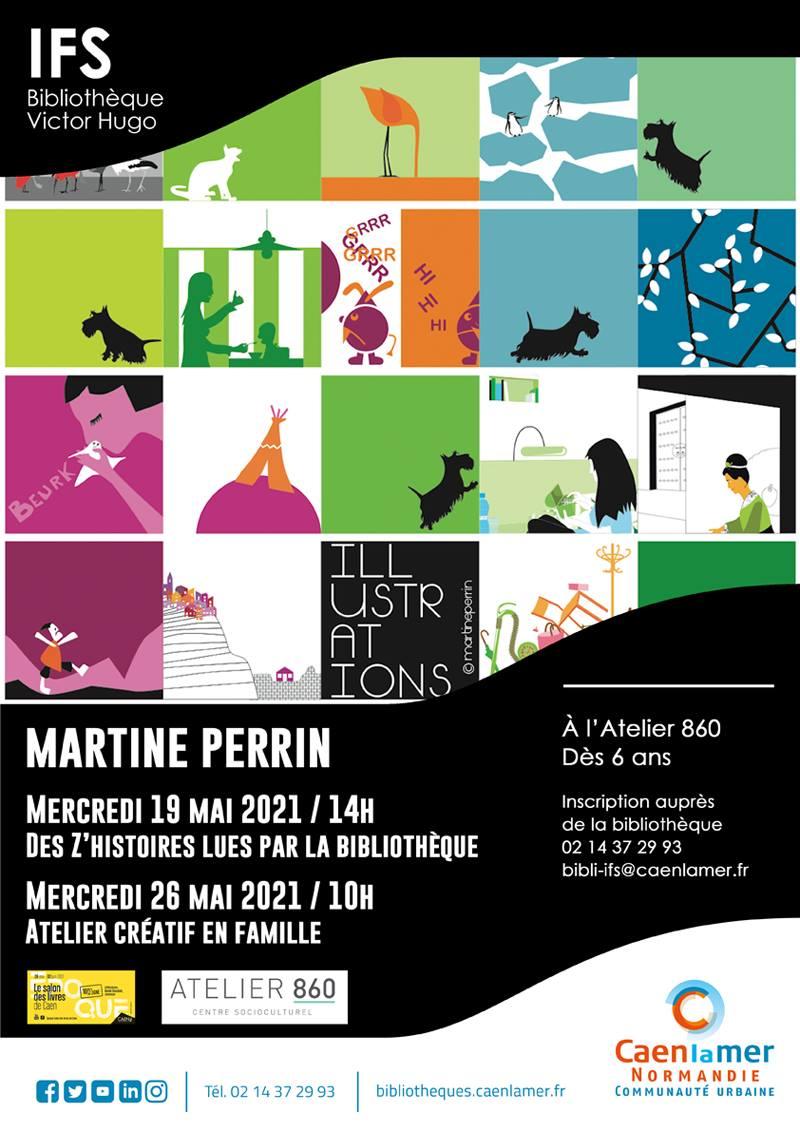 Lecture d'histoires de Martine Perrin  