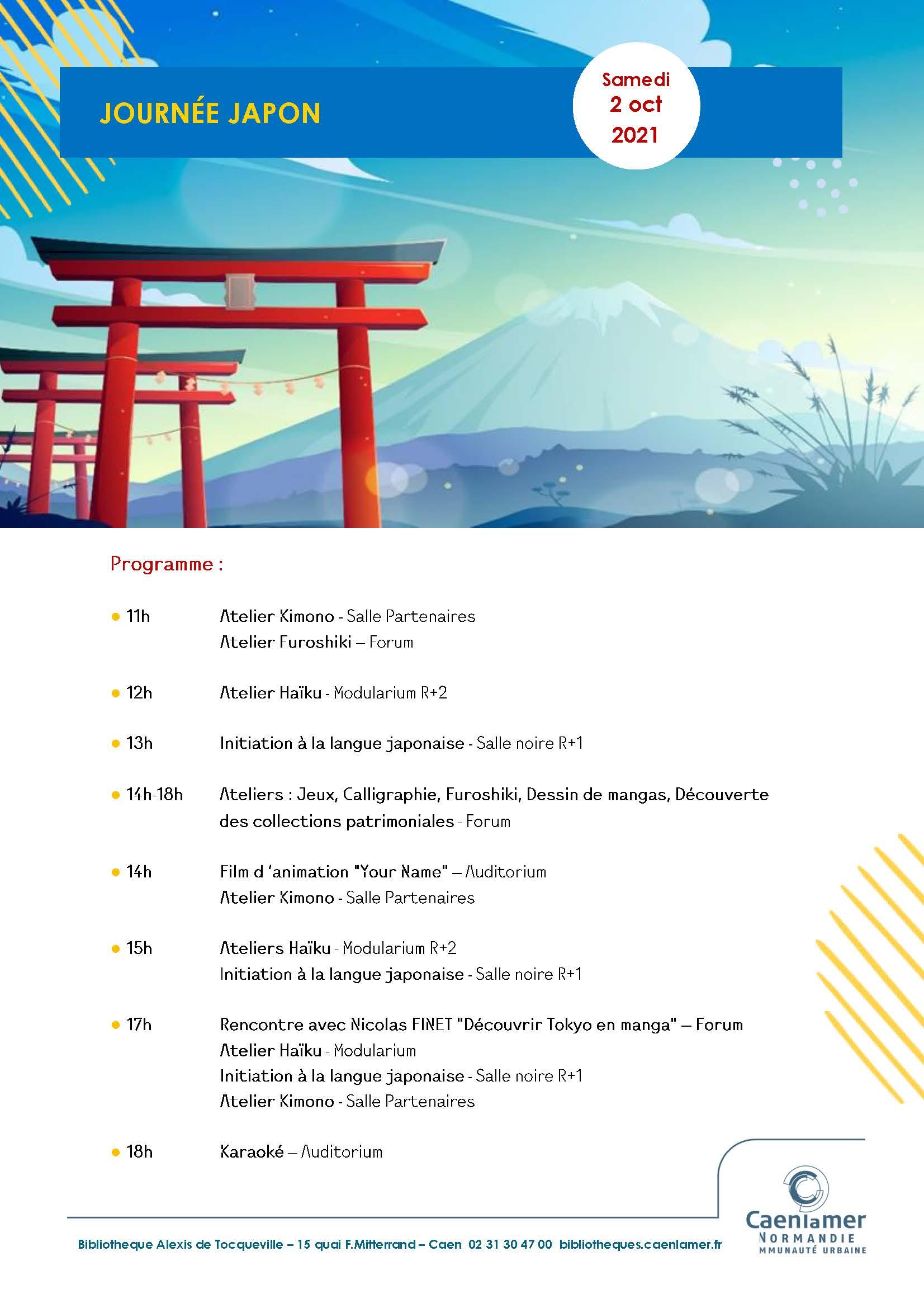 JOURNÉE JAPON / LA FABULEUSE HISTOIRE DES MANGAS  