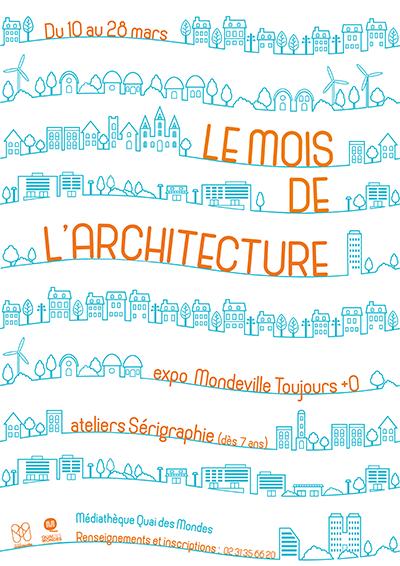Mois de l'Architecture : Sérigraphie |