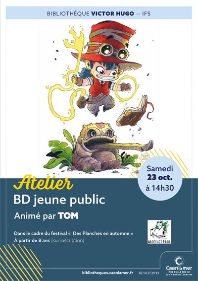 Atelier BD jeune public / COMPLET |