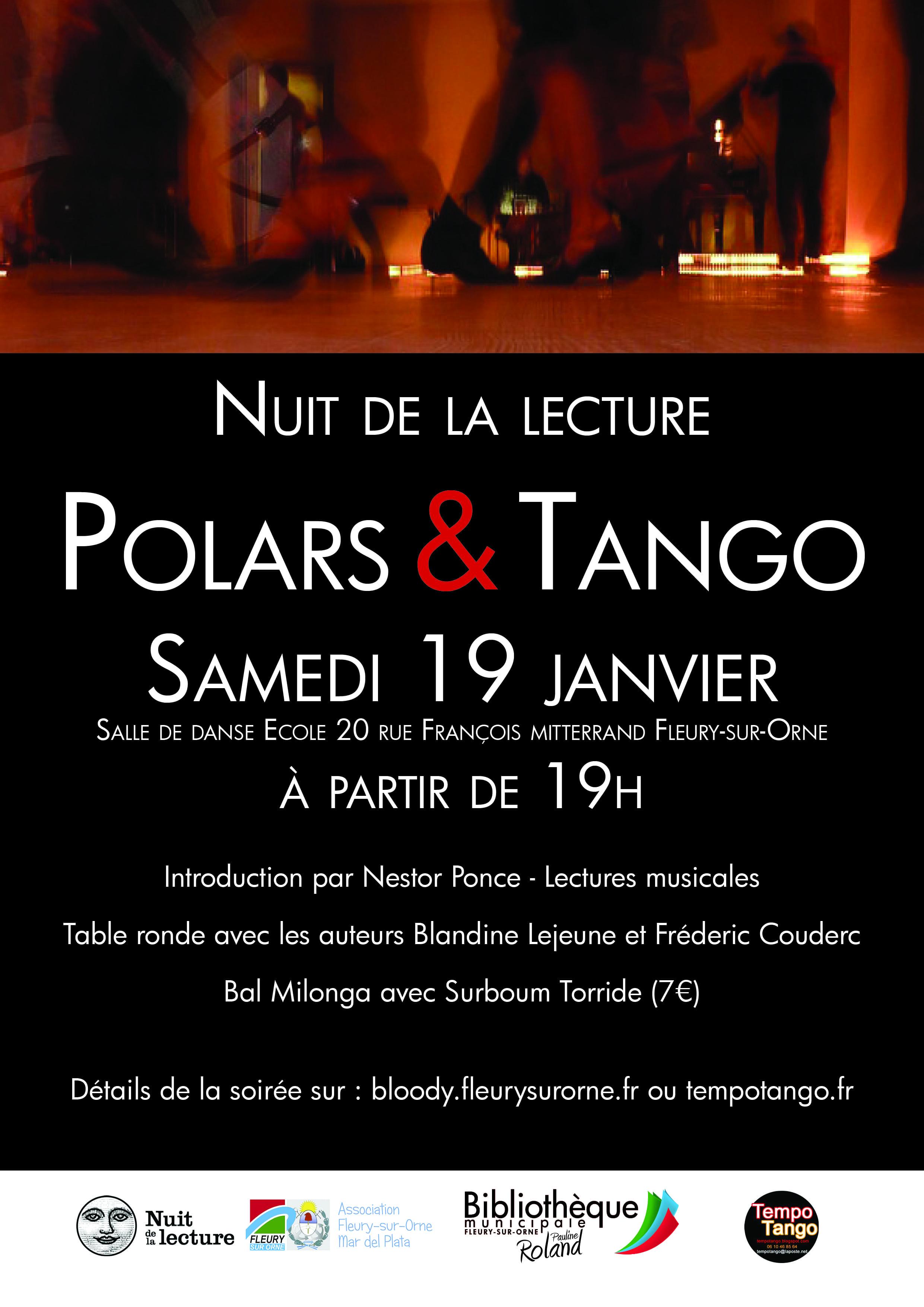 Nuit de la Lecture : Polars et Tango !  