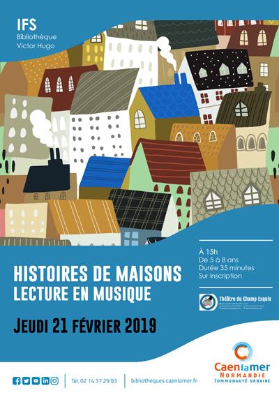 Histoires de maisons (lecture en musique) |