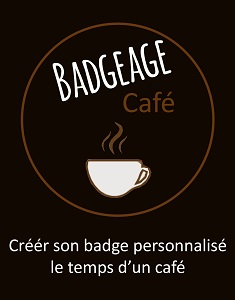 Badgeage café |