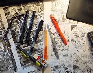 Atelier BD avec Sébastien Corbet, dessinateur |