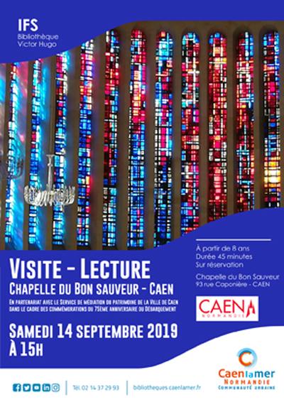 Visite-Lecture Chapelle du Bon Sauveur (Caen) |