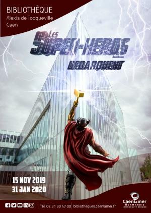 Les Super-héros débarquent / Mondes imaginaires |