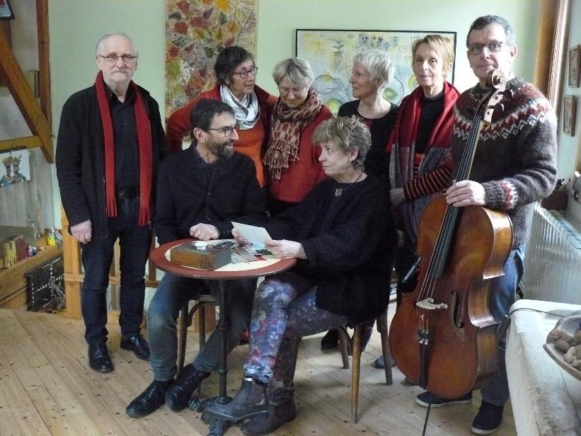 Lectures théâtralisées accompagnées au violoncelle |