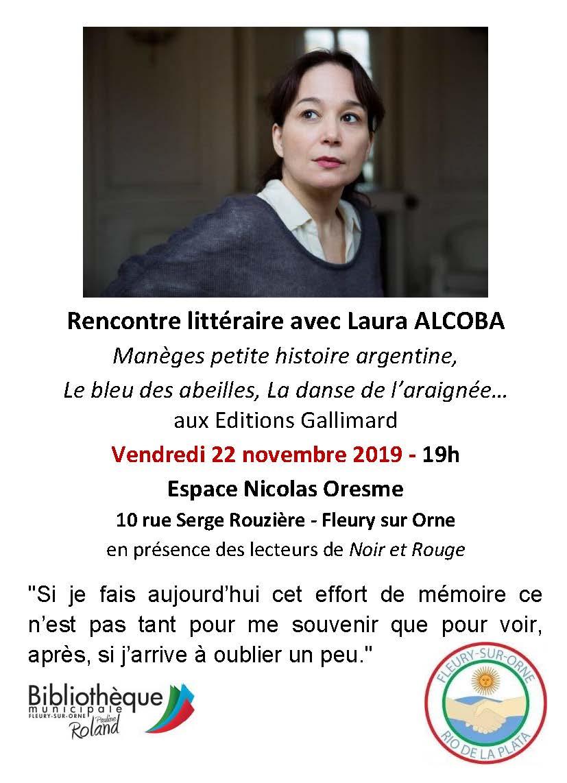 Rencontre avec Laura Alcoba |