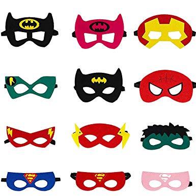 Création de masque super-héros |