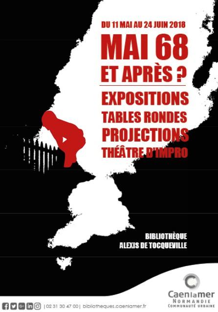 Mai 68 Bibliothèque Alexis de Tocqueville